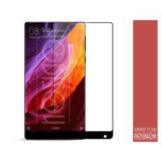 NOZIROH Amazing H + Pro 2.5D 0.2mm Anti-Burst Xiaomi Mix (6.4 Inch) Film Pelindung Anti Gores untuk Xiaomi Mi Mix Screen Protector (Warna Hitam)-Intl