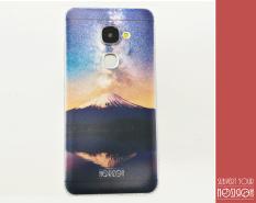 NOZIROH Leeco Le2 X620 PRO X520 Perlindungan Ultra Tipis Kasus Telepon TPU Lukisan Alam Ungu