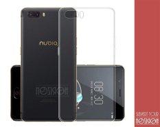 NOZIROH Nubia M2 Ultra Tipis TPU Ponsel Cover ZTE Nubia M2 (5.5 Inch) Lembut Silicone Ponsel Case Pelindung Belakang Penutup Bening Warna