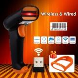 Harga Nteumm S2 Wireless Barcode Scanner 2000 Mah Bar Kode Reader 2 4G Hingga 50 M Laser Barcode Scanner Nirkabel Wired Untuk Windows Pc Intl Oem Asli