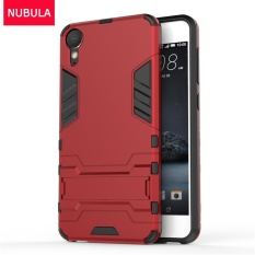 NUBULA 360 Derajat Ultra-Thin Hard Back Cover untuk HTC Desire 10 Gaya Hidup Dilepas 2 In 1 Hibrida Armor Shell Case Dual-Layer Full Pelindung Shockproof Case Cover/Anti Jatuh Ponsel Cover dengan Built-In Kickstand-Intl