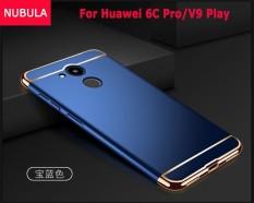 NUBULA untuk Huawei Honor 6C Pro/Huawei Honor V9 Play 3 In 1 Hard PC Pelindung Belakang Menutupi Case /Anti Jatuh Ponsel Cover/Tahan Guncangan Ponsel Case-Intl