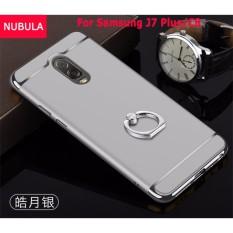 Beli Nubula Untuk Samsung Galaxy J7 Plus Samsung Galaxy C8 3 In 1 Hard Pc Pelindung Belakang Menutupi Case Anti Jatuh Ponsel Cover Tahan Guncangan Ponsel Case Dengan Logam Cincin Intl Tiongkok