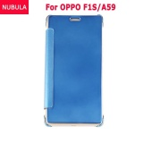 Spesifikasi Nubula Baru Fashion 360 Derajat Cermin Mewah Clamshell Hard Shell Flip Dompet Kasus Penutup Untuk Oppo F1S Oppo A59 A59S Soft Leather Flip Dompet Smart View Mirror Clear View Full Cover Case Merk Oem