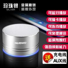 NUBWO/A2 PRO Wolf Bauwens Nirkabel Bluetooth Speaker Kartu Mobile Phone mini Stereo Bass Cannon-Intl