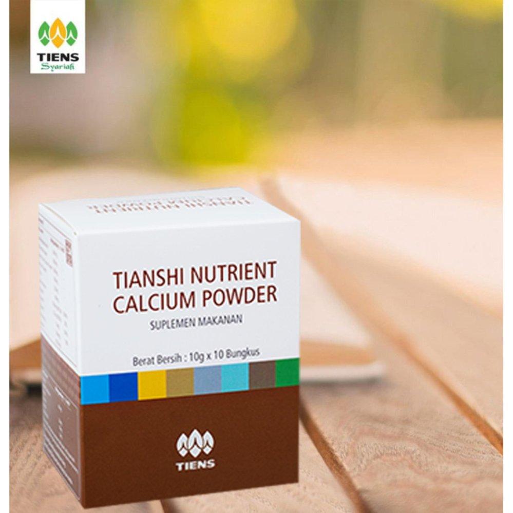Spesifikasi Nutrient Calcium Powder Tiens Murah Kalsium Untuk Tulang Patah Retak Osteoporosis Dan Peninggi Badan Diskon Terbaru