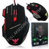Jual Nyk G 07 Mouse Gaming 7D Usb With Led Hitam Branded