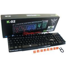 NYK Keyboard Gaming TKL K-01 / K-02 Full Backlight