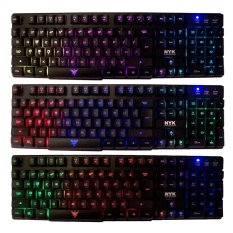 NYK Keyboard Gaming K-02 Full Backlight F-1809 Hitam