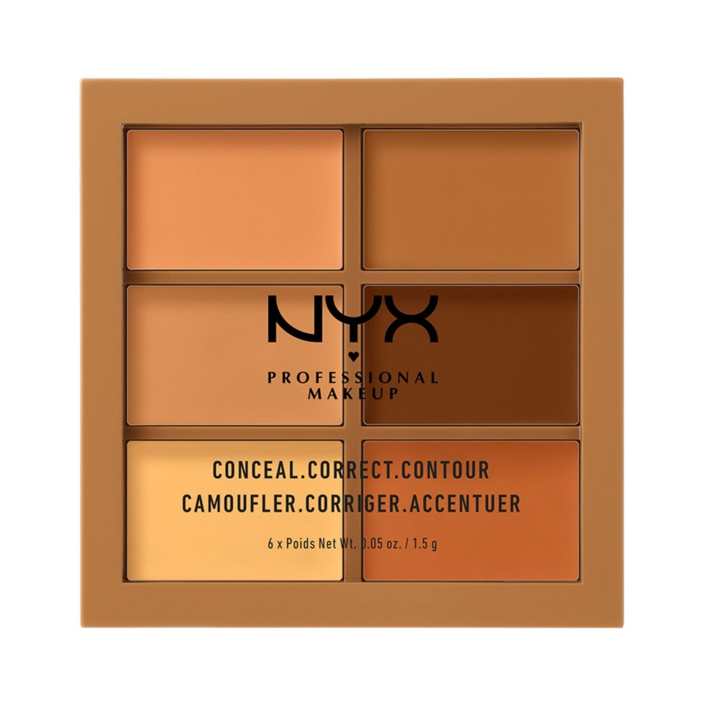 Promo Nyx Professional Makeup Conceal Correct Contour Palette Deep Palet Concealer Countouring And To Cover Imperfections Nyx Professional Makeup