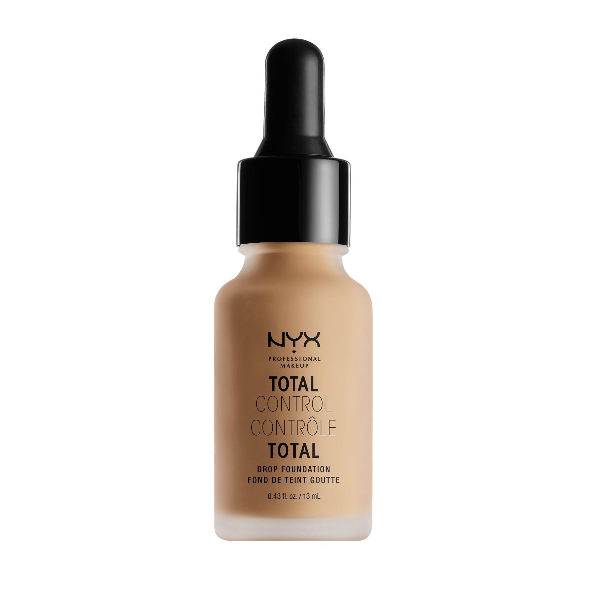 Diskon Besarnyx Professional Makeup Total Control Drop Foundation Buff Alas Bedak Cair Liquid Hasil Matte Untuk Kulit Normal Dan Berminyak Termasuk Dropper Pipet