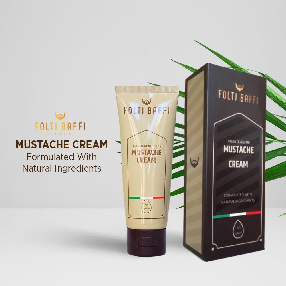 Beli Obat Penumbuh Jambang Dan Brewok Menebalkan Kumis Dan Jenggot Berbahan Alami Folti Baffi Mustache Cream Yang Bagus