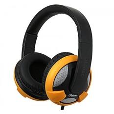 Oblanc UFO200 Over-Ear Headphone dengan Mikrofon IN-LINE, Matte Kuning (OG-AUD63045)-Intl