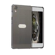 OEM Aluminium Metal Case untuk HTC Desire 10 Gaya Hidup dengan HD Screen Protector-Hitam (Biru)-Intl