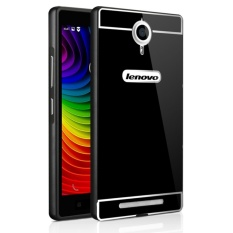 OEM Aluminium Metal Case untuk Lenovo K80 dengan HD Screen Protector-Hitam (Warna: C0)-Intl