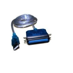OEM Conektor USB To Paralel - IEEE1284 - Biru