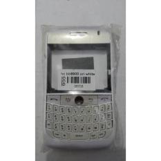 MR Housing CASING Depan Belakang BlackBerry Curve 8900 Javelin - Putih