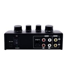 OEM Karaoke Echo Mixer Karaoke Sound Mixer Black PC AmplifierKaraoke System - intl