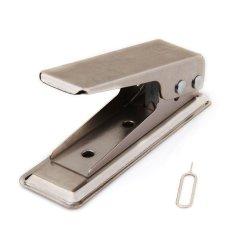 Toko Oem Micro Sim Cutter Iphone4 Silver Termurah