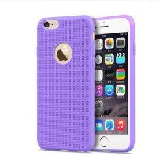 OEM Silicone Ultra Thin Case for iPhone 6 Plus/6s Plus - Ungu