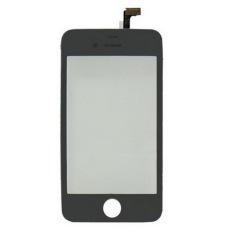 Versi OEM, Hitam, 2-In-1 (penggantian Panel Sentuh + Bingkai LCD) untuk IPhone 4