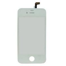 Versi OEM, Putih, 2-In-1 (penggantian Panel Sentuh + Bingkai LCD) untuk IPhone 4