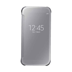 Toko Oem Wallet Mirror View Flip Cover Samsung J7 Core Silver Lengkap Dki Jakarta