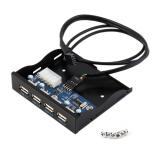 Review O 3 5 Disket Bay Panel Depan 4 Port Usb Hub 2 Ekspansi Konektor Adaptor