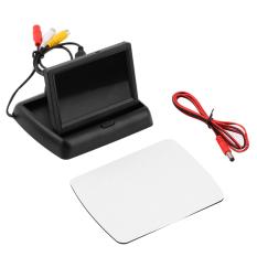Diskon O 4 3 Inci Layar Lcd Tft Lipat Warna Monitor Untuk Review Mobil Mundur Kamera Belakang Hitam