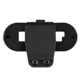 Promo Oh Black Abs Waterproof Bracket Clip Holder For Motorcycle Interphone Helmet Tiongkok