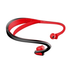 OH BW1 Professional Back Hanging Structure Bluetooth 4.1 WaterproofEarphone red