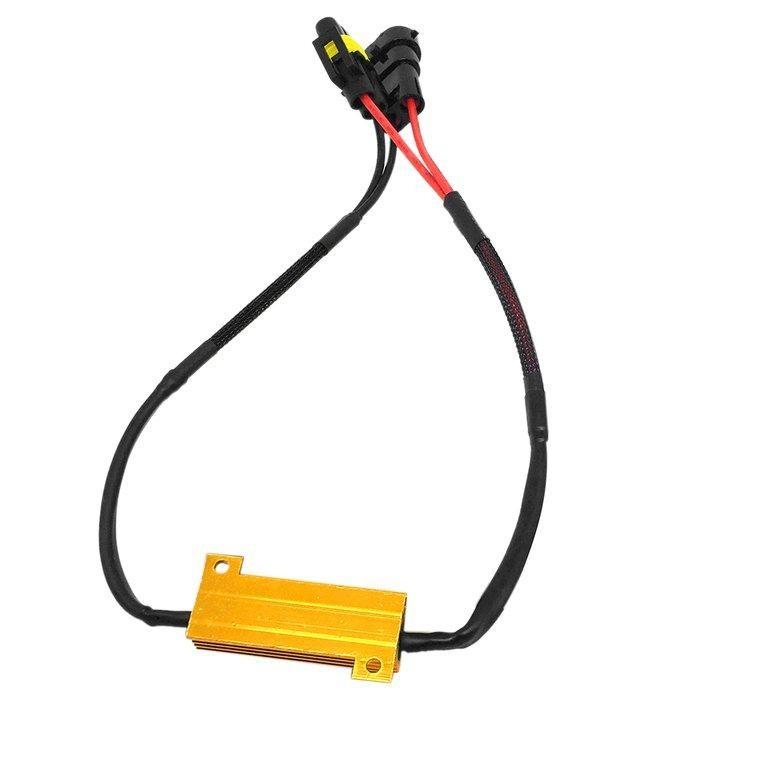 Oh DC12V 50 W H8 H11 LED Kabut Ringan Kabel Memanfaatkan Perlengkapan LED Foglamp Tali Set-Internasional