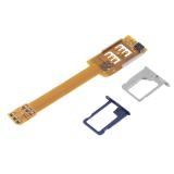 Harga Oh Ponsel Dua Kartu Sim Ganda For Penggunaan Dua Sim Adaptor Samsung Galaxy Kuning Yang Bagus