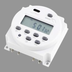 Toko Oh Baru Lcd Digital Power Programmable Timer Ac 12 V 16A 4 4Va Waktu Relay Switch Termurah