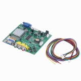 Tips Beli Oh Baru Rgb Cga Ega Yuv For Vga Hd Video Converter Papan Modul Hd9800 Gbs8200