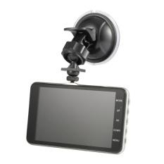 OH SK-40 4.0 Inci Mobil DVR Perekam Mengemudi Camcorder LED NightVision 170 Derajat Hitam-Intl