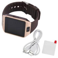 Kamera Mini Jam Tangan Pintar For Ponsel Android Handphone Sobat Fashion Elegan Keemasan OH