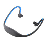 Promo Oh Handsfree Stereo Headset Bluetooth Nirkabel Olahraga Headphone Untuk Iphone Handphone Biru Murah