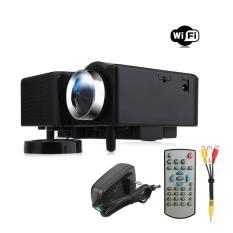 OH PRO HDMI Portable Mini LED Hiburan Proyektor Bioskop Rumah Hitam KITA Plug