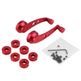 Harga Oh Universal Mobil Otomatis Aluminium Kaca Pintu Jendela Engkol Menangani Kit Set 2 Merah