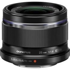 Olympus M. ZUIKO DIGITAL 25mm F/1.8 Lens Black