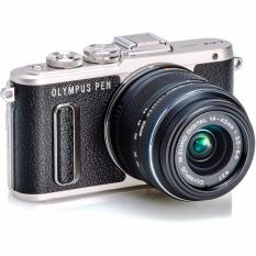 Olympus PEN E-PL8 Mirrorless Micro Four Thirds Kamera Digital Kit 14-42mm EZ - Hitam