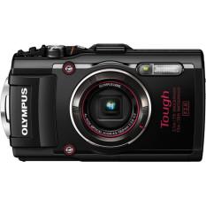 Olympus Stylus TOUGH TG-4 16MP Digital Camera Black Full HD WIFI GPS TAHAN AIR-Intl