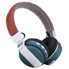 Jual Pada Telinga Kepala Memakai Lipat Nirkabel Bluetooth 4 Adaptor Isi Ulang Headset Stereo Headphone Earphone With Kabel Audio Slot Kartu Tf Biru Di Indonesia