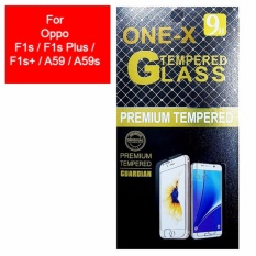ONE-X 2.5D Rounded Tempered Glass for Oppo F1s / A59 / A59S 5.5 Inch (sama ukuran) - Clear