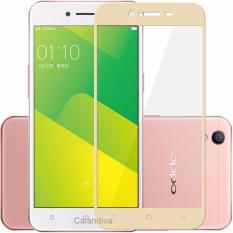 ONE-X Full Cover Tempered Glass for Oppo A37 / Neo 9 – Gold