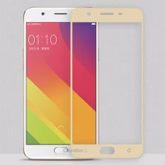 ONE-X  Full Cover Tempered Glass for Oppo F1s / A59 / A59S 5.5 Inch – Gold