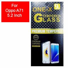 ONE-X 2.5D Rounded Tempered Glass for Oppo A71, A71 (2018) 5.2 Inch (sama ukuran) - Clear