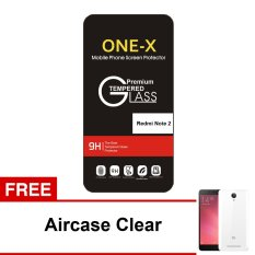 ONE-X Tempered Glass for Xiaomi Redmi Note 2 / Pro / Prime - Clear + Bonus Aircase