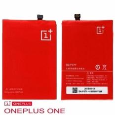 OnePlus Batarai One Plus One BLP571 Kapasitas 3100mAh - Original